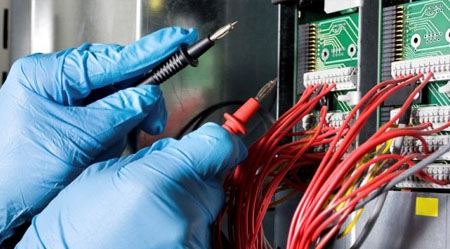 testing and commissioning of electrical equipments